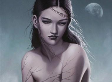 忧郁系列的绘画作品欣赏