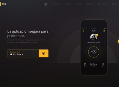 Easy Taxi UI界面设计