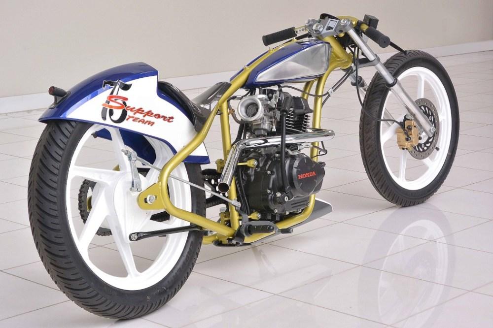 如此狂野的摩托车