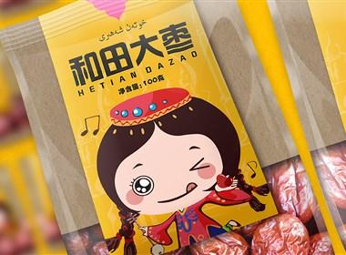 绵阳新生代品牌创意设计:和田大枣包装设计