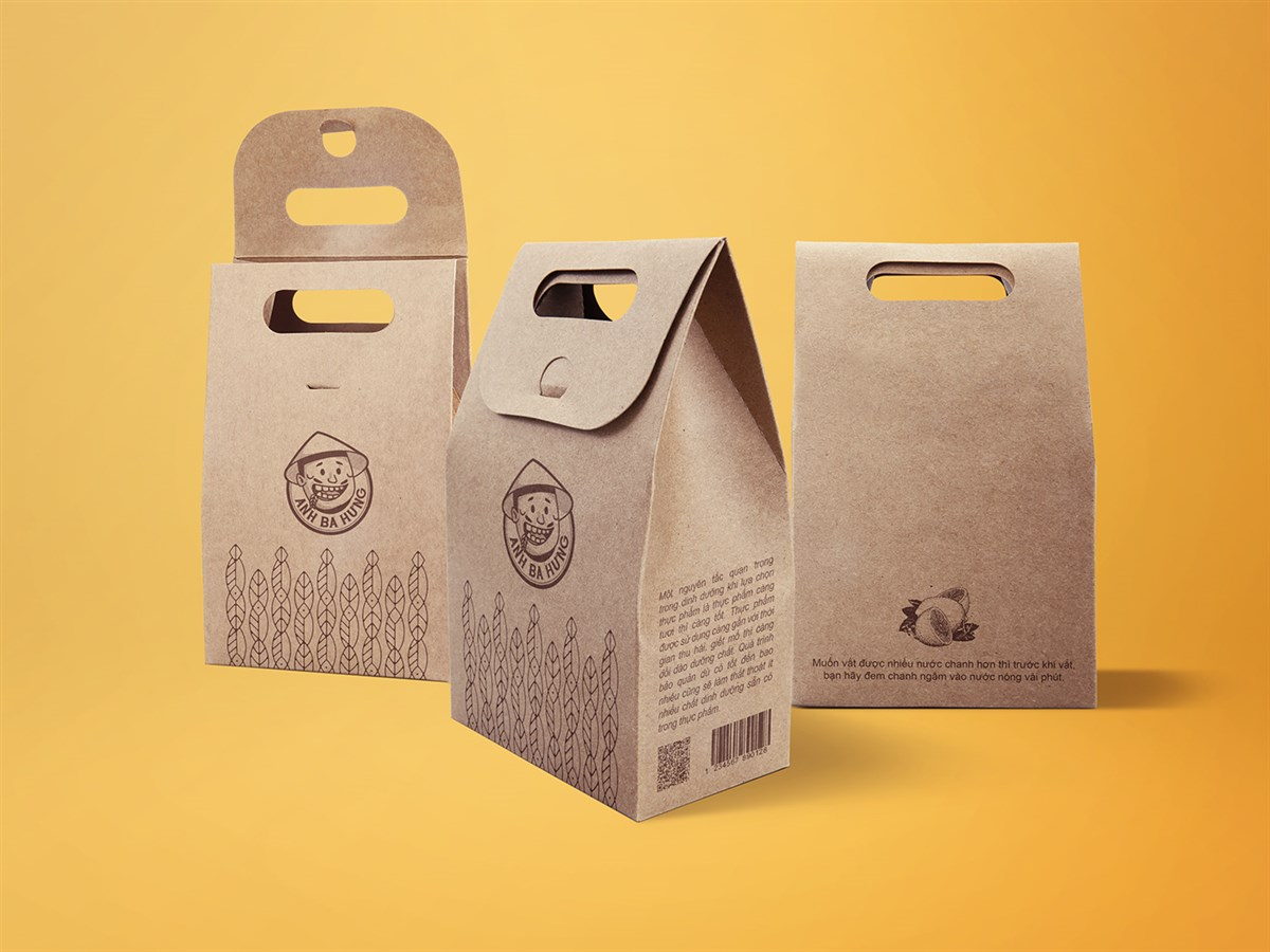 Anh Ba Hưng农食产品品牌设计