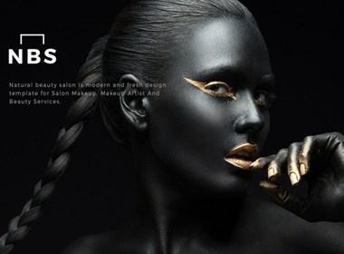 美妆护肤 网页页面设计