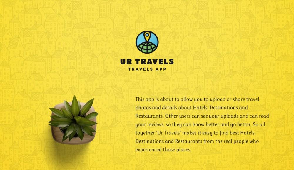 Ur Travels 旅行APP设计