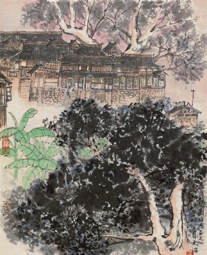 经典中国水墨画作品