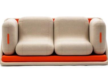 时尚简约的模块化沙发设计