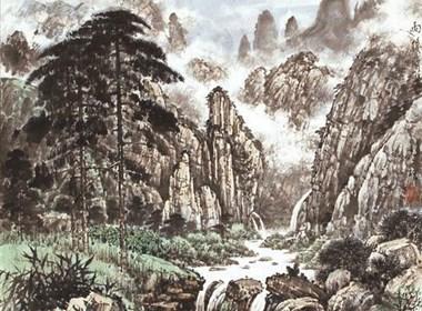 刘声垠山水画作品