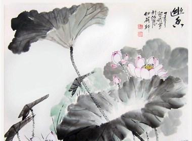 王留娥国画作品