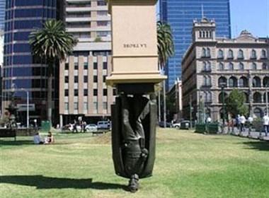 绝妙的城市雕塑