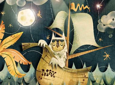 喜欢画怪物的家伙—Cory Godbey和他的怪物朋友