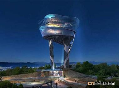 韩国Daewon公园观光塔
