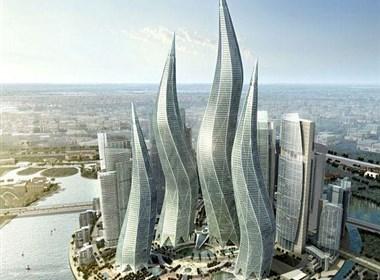 迪拜疯狂的外星建筑