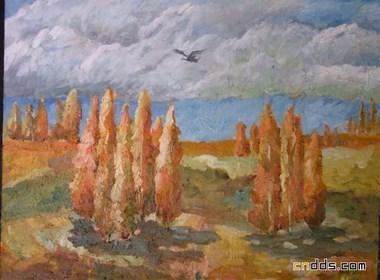 精神家园--吴瑕原创风景油画作品