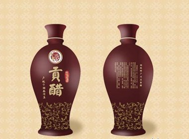 食醋瓷瓶包装设计