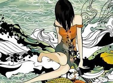 中国设计师古典插画设计欣赏