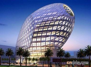 蛋形广场建筑设计欣赏