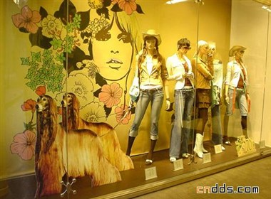服装展示橱窗设计欣赏