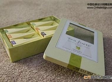 优雅时尚花草茶包装设计