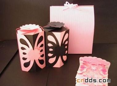 湖南工大包裝設計紙盒結構作品