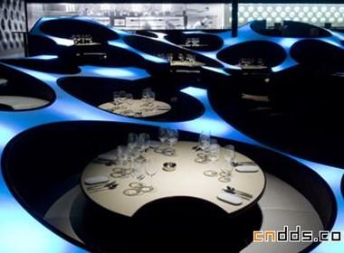 蓝色青蛙餐厅室内设计