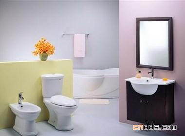 卫生间设计:七彩卫浴间