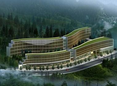 牧桓建筑公司作品《高屋森林酒店》