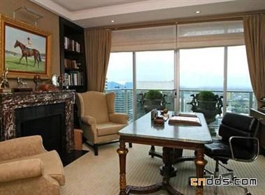 现代豪华楼顶公寓室内设计