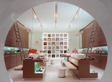 极具特色的鞋店设计