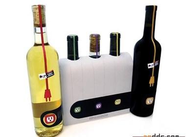 新奇的红酒包装设计