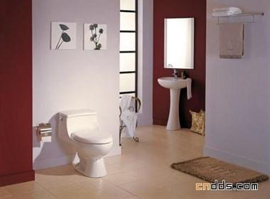 素雅温馨的卫浴装饰设计