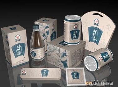 鄧老涼茶包裝設計