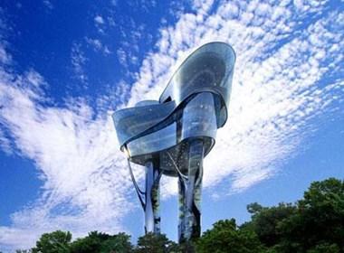 位于韩国Daewon公园的观光塔设计