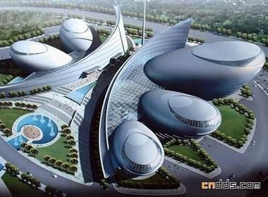 河南艺术中心建筑欣赏