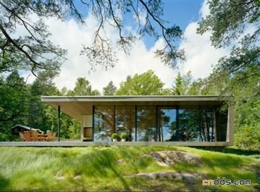 斯德哥尔摩群岛临水住宅设计