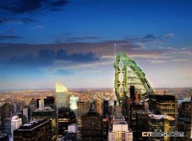 美国纽约概念摩天大楼设计