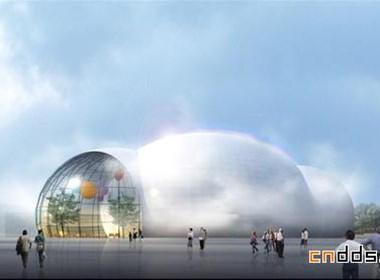 上海世博会世界气象馆效果图