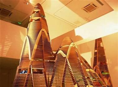 未来概念城市模型