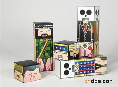 国外超有意思的盒子设计