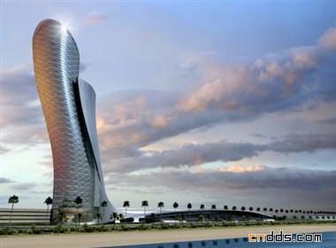 比萨斜塔还要倾斜的迪拜五星级酒店