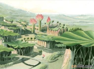 未来理想中的植物城市