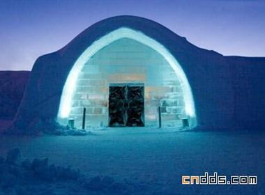 """瑞典的""""冰雪酒店"""""""
