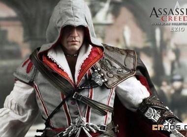 HT新作《刺客信条2》主角Ezio逼真模型赏