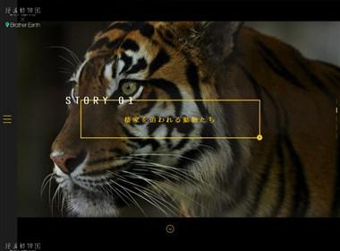 日本某网站界面设计