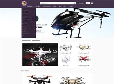 国外玩具网页设计