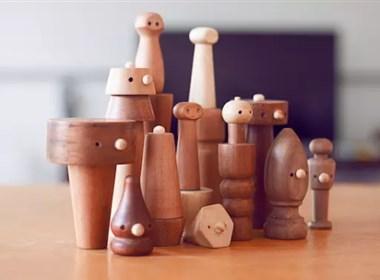 Wooden by Pum 木质玩具