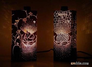Anke Weiss的包装盒灯设计