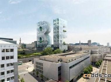 比利时布鲁塞尔个性BE办公大楼设计