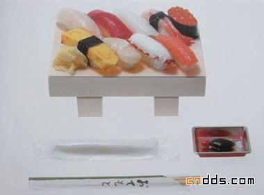 創意包裝之高跟鞋和壽司