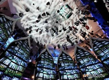 国际展馆三星电子万花筒设计