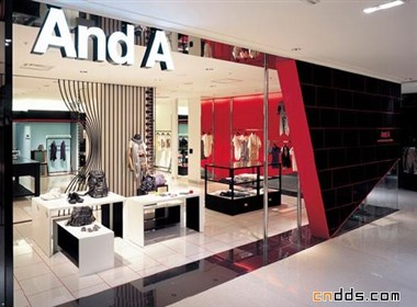 日本服装店设计