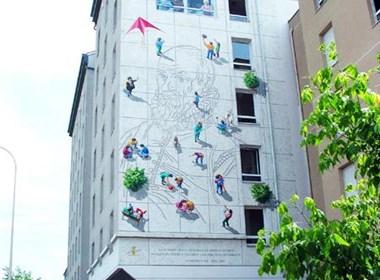 如此创意户外墙设计